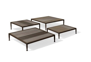 Law Table Gea outdoor di Giorgetti