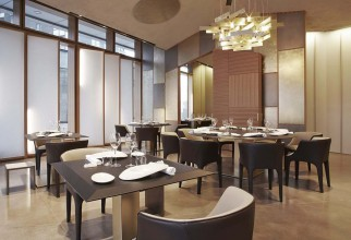 Giorgetti Furnishings at Berton Restaurant in Milan