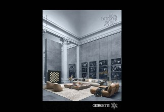"Giorgetti Renews its Campaign ""How Different Would You Be""?"