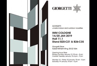 Giorgetti Furnishings at IMM Cologne