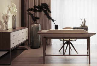 Giorgetti Furnishings in a Beijing Residential Project